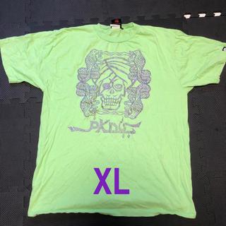 パンクドランカーズ(PUNK DRUNKERS)のあいつ アラジン XL PDS  Tシャツ ライムグリーン パンクドランカーズ(Tシャツ/カットソー(半袖/袖なし))