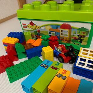 Lego - LEGO duplo 緑バケツ
