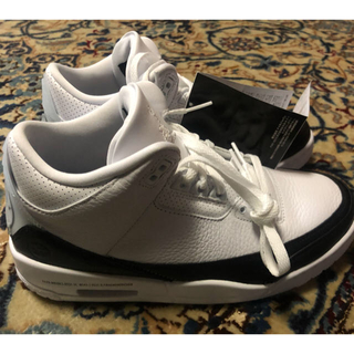 "NIKE - NIKE Air Jordan 3 Retro SP ""White/Black"""