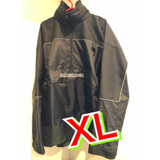バレンシアガ(Balenciaga)のバレンシアガ ナイロンジャケット 黒 新品(ナイロンジャケット)