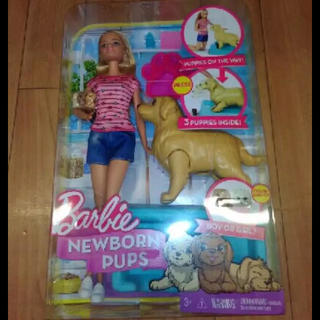 バービー(Barbie)のバービー 犬 かわいい barbie dog バービー人形 お散歩 しつけ(ぬいぐるみ/人形)