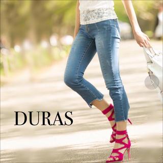 デュラス(DURAS)のDURAS センター切替 デニム パンツ♡リップサービス RESEXXY エモダ(デニム/ジーンズ)
