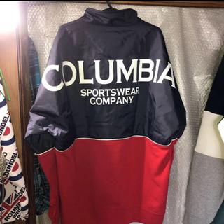 コロンビア(Columbia)の XL秋先取り‼️背面デカロゴ‼️コロンビアColumbiaマウンテンパーカー (マウンテンパーカー)