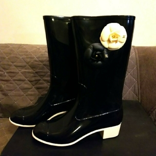 シャネル(CHANEL)のCHANEL レインブーツ(レインブーツ/長靴)