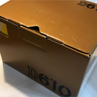 Nikon - シャッター数 僅か1100回?美品 NIKON D610 付属品完備