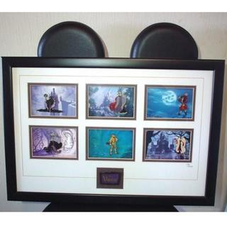 ディズニー(Disney)の1000VillAins ヴィランズ フレームピンバッチ(絵画/タペストリー)