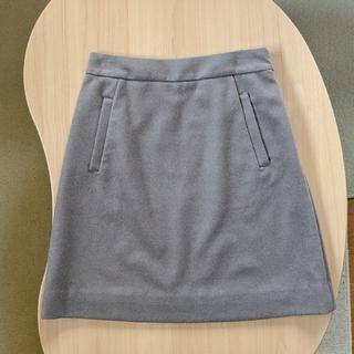 シップス(SHIPS)のSHIPS シップス モカ 台形 ベロア スカート(ひざ丈スカート)