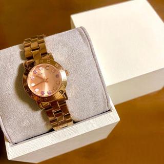 マークバイマークジェイコブス(MARC BY MARC JACOBS)の【大特価!!】マークジェイコブス 腕時計 ピンクゴールド 秋 ハロウィン🎀(腕時計)