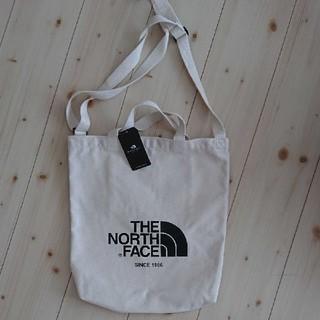 ザノースフェイス(THE NORTH FACE)の新品 THE NORTH FACE トートバッグ キャンバス トートバッグ (トートバッグ)
