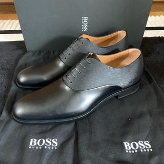 Santoni - 新品 HUGO BOSS ヒューゴボス プレーントゥ 26cm ビジネスシューズ