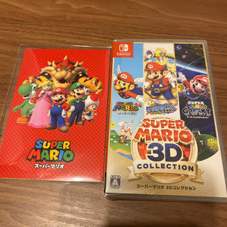 ニンテンドースイッチ(Nintendo Switch)のスーパーマリオ3Dコレクション パッケージ版 ポストカード付き(家庭用ゲームソフト)