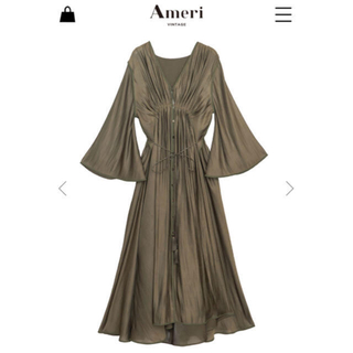 Ameri VINTAGE - MEDI GATHER NEGLIGEE DRESS