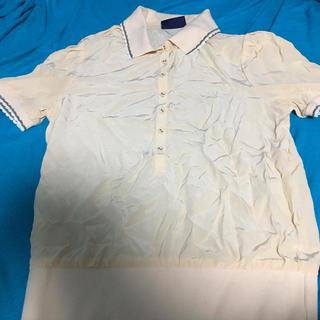 フレッドペリー(FRED PERRY)のフレッドペリー ピンクシルクカットソー (ポロシャツ)