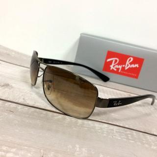 Ray-Ban - レイバン RB3379 ブラック ブラウン グラデ サングラス メガネ