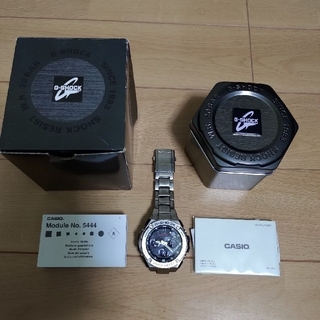 CASIO - CASIO G-SHOCK  電波ソーラー GST-W110D-1AJF