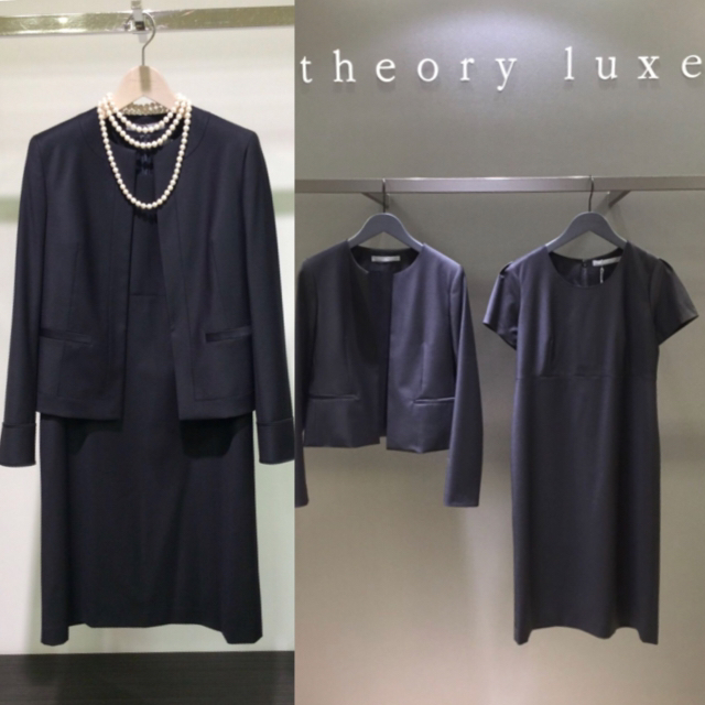 Theory luxe(セオリーリュクス)のtheory luxe Executive セットアップ ジャケット ワンピース レディースのフォーマル/ドレス(スーツ)の商品写真