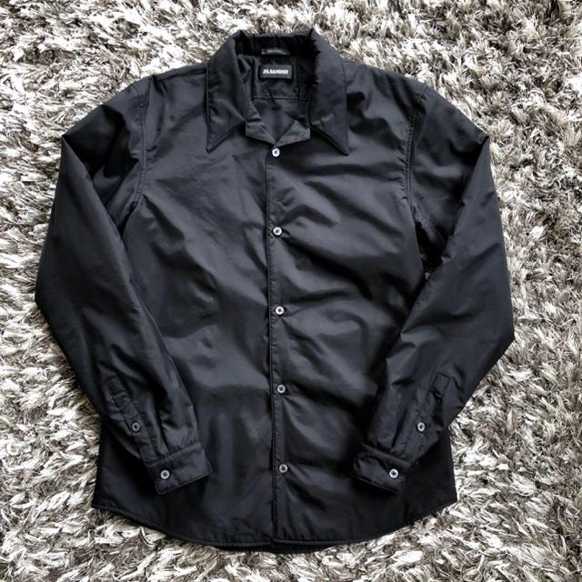 Jil Sander(ジルサンダー)の【最終値下】新品 Jil Sander パデッドシャツジャケット メンズのジャケット/アウター(ナイロンジャケット)の商品写真