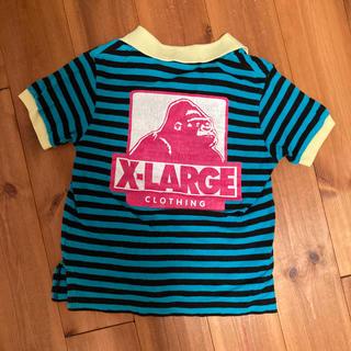 エクストララージ(XLARGE)のX-LARGE kids ゴリラプリント ポロシャツ バックプリント(Tシャツ/カットソー)