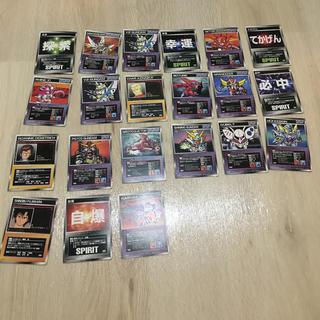 バンプレスト(BANPRESTO)のスーパーロボット対戦 カードゲーム  21枚セット(カード)
