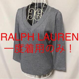 ラルフローレン(Ralph Lauren)の★RALPH LAUREN/ラルフローレン★七分袖カットソーM(9号)(カットソー(長袖/七分))