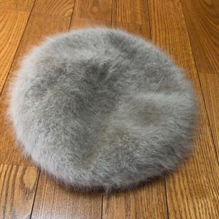 カシラ(CA4LA)の【CA4LA】ファーベレー帽(ハンチング/ベレー帽)