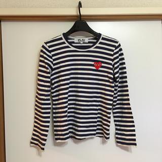 コムデギャルソン(COMME des GARCONS)のPLAY COMMEdesGARCONS 長袖カットソー(Tシャツ(長袖/七分))