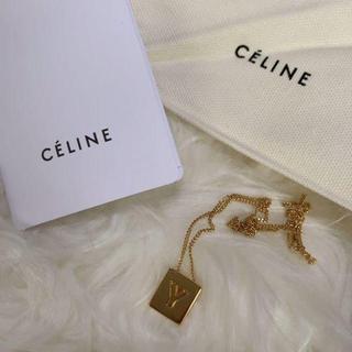 セリーヌ(celine)のCELINE ネックレス アルファベット Y(ネックレス)