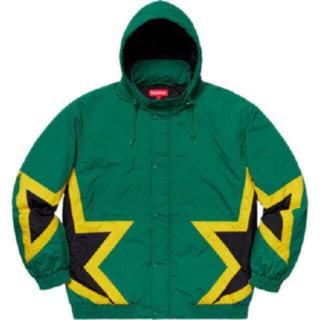 シュプリーム(Supreme)のSサイズ supreme  Stars Puffy Jacket 緑 グリーン(その他)