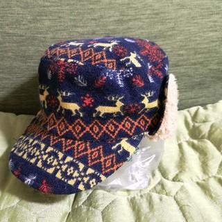 キッズズー(kid's zoo)のニット帽 ノルディック 46 北欧 kids zoo(帽子)