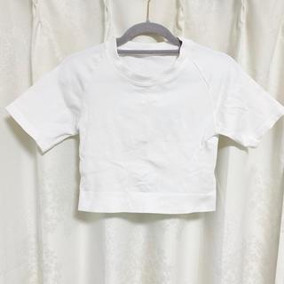 ルルレモン(lululemon)のAlala クロップドTシャツ M(Tシャツ(半袖/袖なし))