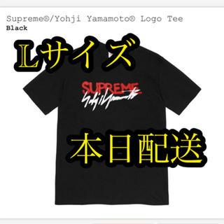 シュプリーム(Supreme)のSupreme/Yohji Yamamoto® Logo Tee Lサイズ(Tシャツ/カットソー(半袖/袖なし))