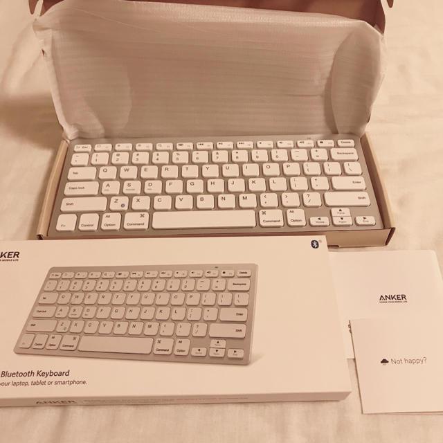 Anker ワイヤレスキーボード スマホ/家電/カメラのPC/タブレット(PC周辺機器)の商品写真