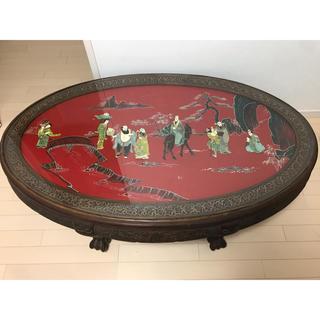 中国清時代 テーブル (彫刻/オブジェ)