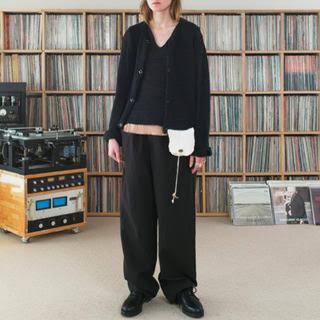 サンシー(SUNSEA)のSUNSEA サンシー linen knit cardigan(カーディガン)