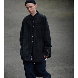 ビームス(BEAMS)のSSZ×AH ビックシャツ ブラックウォッチ(シャツ)