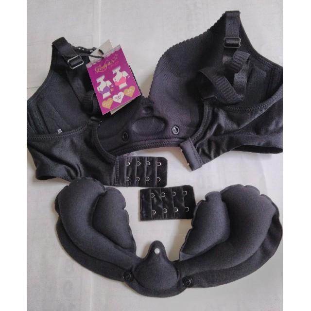 【休日限定】バストアップブラジャー(収納袋付き)3個セット レディースの下着/アンダーウェア(ブラ)の商品写真