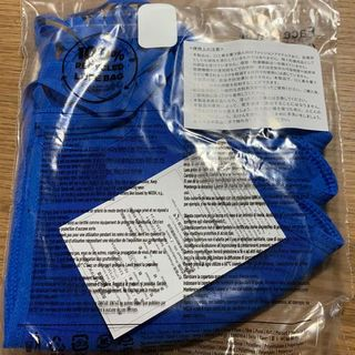 アディダス(adidas)のadidas アディダス カバー ブルー M/L 3枚(トレーニング用品)