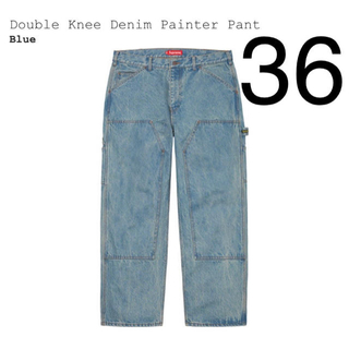 Supreme - 希少 36 Supreme double knee denim painter