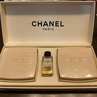 CHANEL - CHANEL N゚5 石鹸ミニ香水set