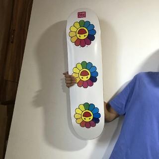 メディコムトイ(MEDICOM TOY)の村上隆 スケートボード送料無料(スケートボード)