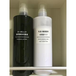 ムジルシリョウヒン(MUJI (無印良品))の無印  スキンケアセット(化粧水/ローション)