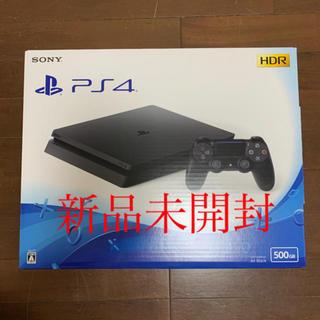 PlayStation4 - 新品 PS4 本体 500GB ジェットブラックCUH-2200AB01送料無料