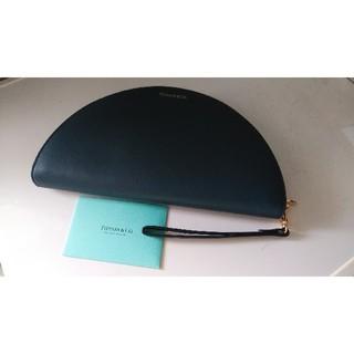 ティファニー(Tiffany & Co.)の新品!ティファニーハーフムーンウォレット正規品 長財布(財布)