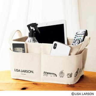 Lisa Larson - InRed 付録 LISA LARSON 外ポケット付き収納ボックス