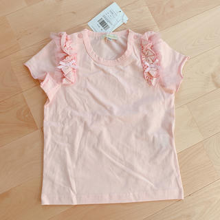フェフェ(fafa)のpanpantutu♡フリルTシャツ100 新品(Tシャツ/カットソー)