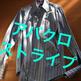 Abercrombie&Fitch - Abercrombie ストライプシャツ アバクロンビー&フィッチ アバクロ