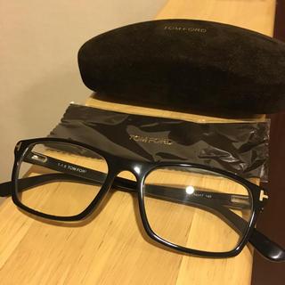 トムフォード(TOM FORD)のトムフォード 伊達眼鏡 黒縁眼鏡(サングラス/メガネ)