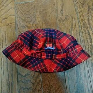 ミキハウス(mikihouse)のチエコサク ミキハウス 帽子 54センチ(帽子)