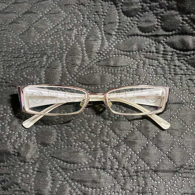 miumiu(ミュウミュウ)の【あっき様専用】メガネフレーム MIUMIU レディースのファッション小物(サングラス/メガネ)の商品写真