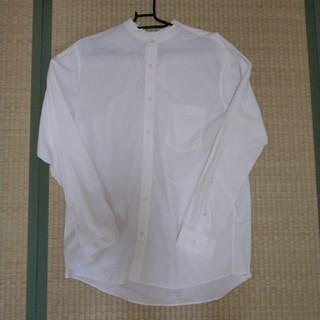 グローバルワーク(GLOBAL WORK)のバンドカラーシャツ(シャツ)